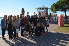 Rīgas Komercskola audzēkņi Itālijā