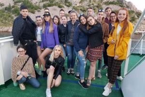 Rīgas Komercskolas audzēkņi mācību praksē Horvātijā un Slovēnijā