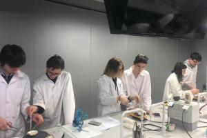 Ķīmijas konsultācija LU Dabaszinātņu Akadēmiskajā centrā