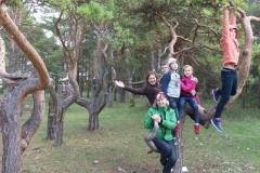 Rīgas komercskolas mācību ekspedīcija Sāmsalā