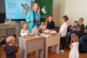 Pirmā skolas diena Rīgas Komercskolā