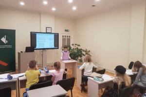 Radošā Angļu valodas nodarbība Tālmācības Pamatskolā