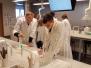 Rīgas Komercskolas audzēkņi ķīmijas konsultācijā LU Dabaszinātņu Akadēmiskajā centra laboratorijā - 25. 03. 2019.