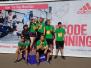 Rīgas Komercskolas komanda startēja Tet Rīgas maratonā  - 25.05.2019.