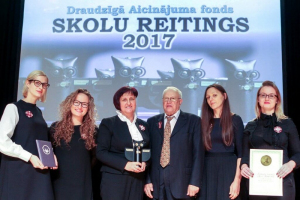 Skolu reitings 2017