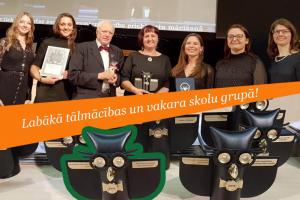 Skolu reitings 2019 - Rīgas Komercskolas apbalvošana