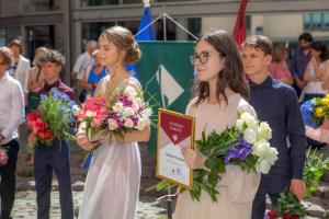 Rīgas Komercskolas 9. klases izlaidums