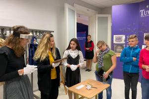7. un 8.klases audzēkņi vēsturi apguva Latvijas Nacionālajā vēstures muzejā