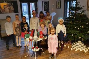 Rīgas Komercskolas Ziemassvētku svinības Kalnciema kvartālā