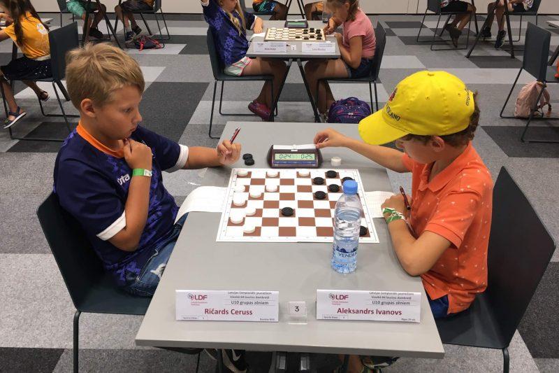 Prieks par 3.klases audzēkni Aleksandru Ivanovu,kurš ieguva 3.vietu U10 grupā zēniem.