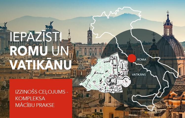 Iepazīsti Romu un Vatikānu!