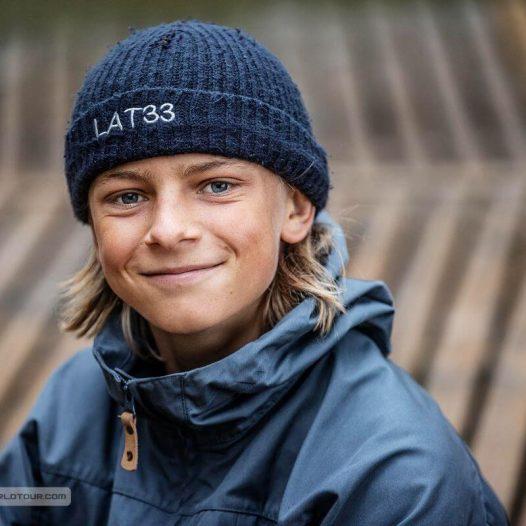 Valteram Videniekam bronza jauniešu Pasaules kausa sacensībās viļņu burāšanā