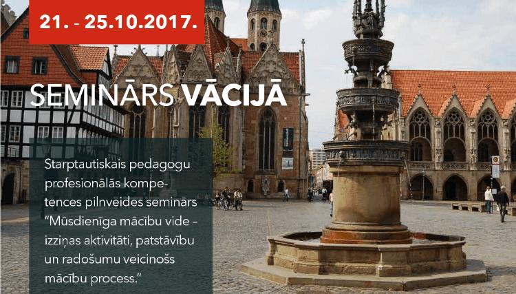Starptautiskā pedagogu profesionālās kompetences pilnveides semināra - 21. -25.10.2017., Vācijā - foto galerija