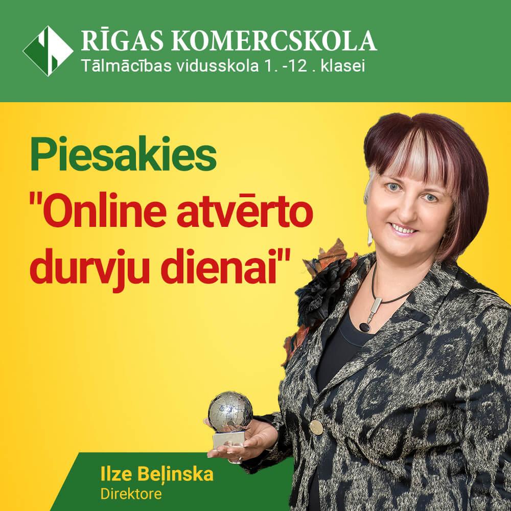 Piesakies Online Atvērto durvju dienai