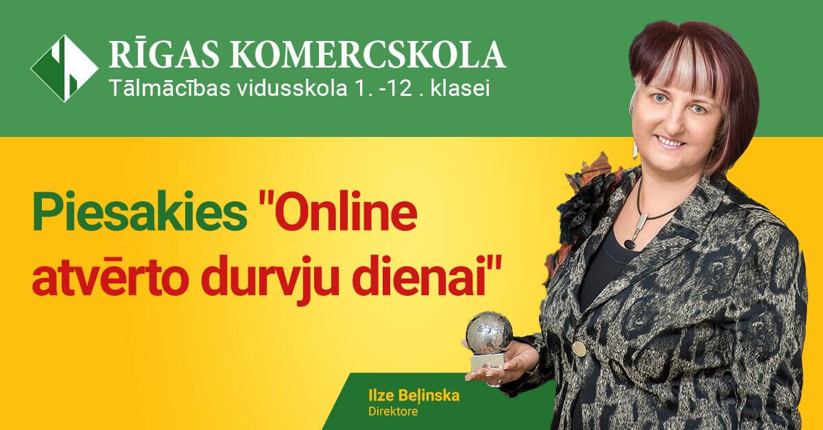 30 gadu pieredze izglītībā - Ilze Beļinska - «Rīgas Komercskola»