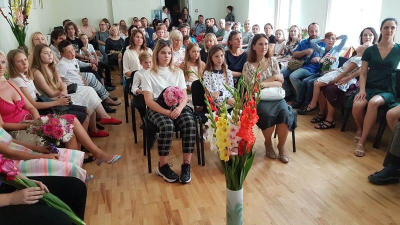 Pirmā skolas diena 2019./2020. mācību gadā - Rīgas Komercskola