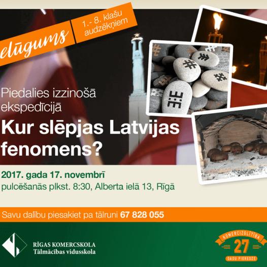 Kur slēpjas Latvijas fenomens?