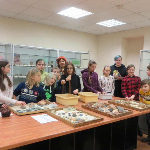 Dabaszinību konsultācija Rīgas Komercskolas audzēkņiem