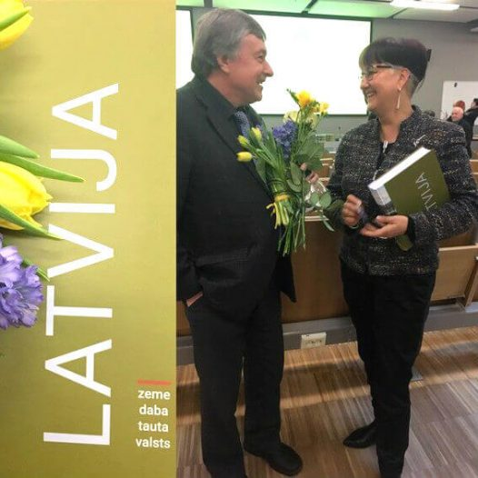 Grāmatas «Latvija. Zeme, daba, tauta, valsts» svētki
