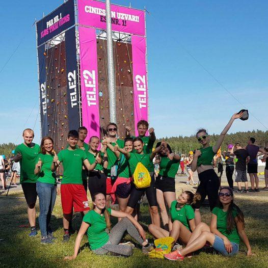 Rīgas Komercskolas komanda ZZ čempionāta finālā