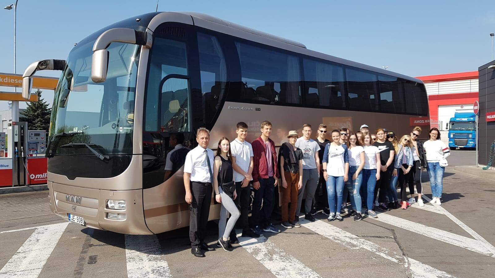 Rīgas Komercskolas audzēkņi devušies mācību praksē Horvātijā un Slovēnijā