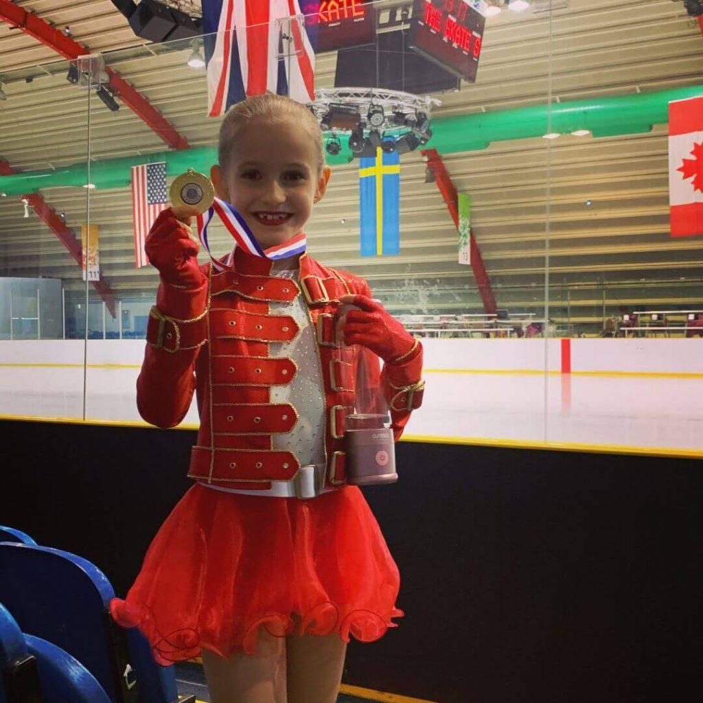 Nataša Jermoļicka - 1.vieta sacensībās daiļslidošanā Southern Skate 2020, Londonā