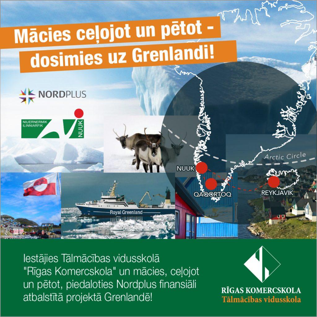 Mācies ceļojot un pētot - dosimies uz Grenlandi