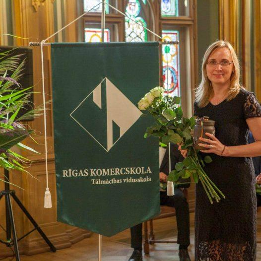 Apsveicam mūsu angļu valodas skolotāju Agnesi Gromovu-Ķūrenu ar izcilu maģistra darba aizstāvēšanu