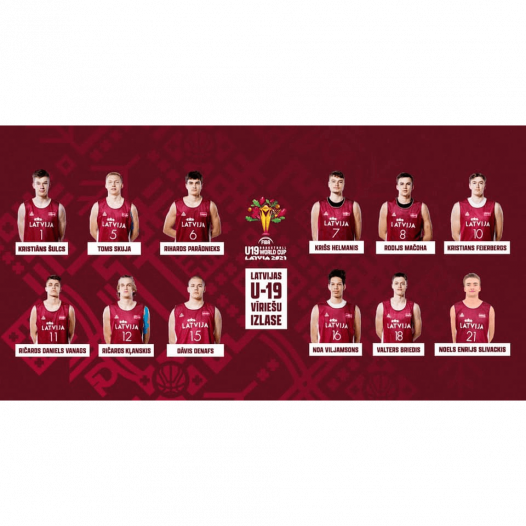 6 Rīgas Komercskolas absolventi Latvijas U19 izlases sastāvā!